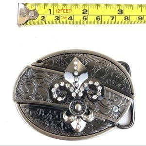 Other - Knif Belt Buckle Western Cowboy SILVER